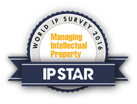 "Managing Intellectual Property ""IP Star"" 2016"