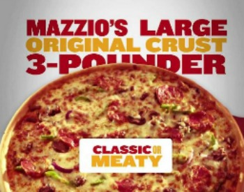 Mazzio's Pizza - Large Original Crust 3-Pounder