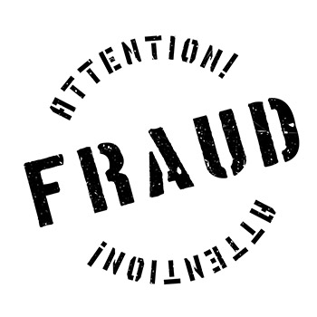 Attention Fraud Stamp