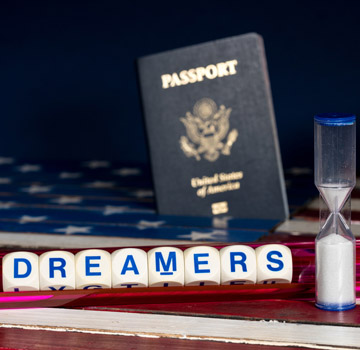 Dreamers Letters Passport Hourglass