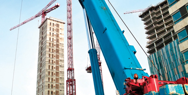 Fredrikson & Byron Construction, construction attorney, construction cranes