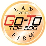 """2013 """"Go-To Law Firm"""""""