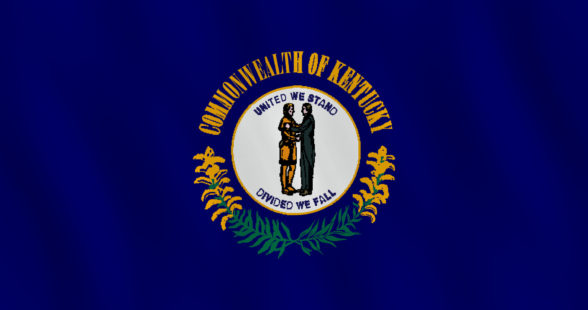 Kentucky US state flag