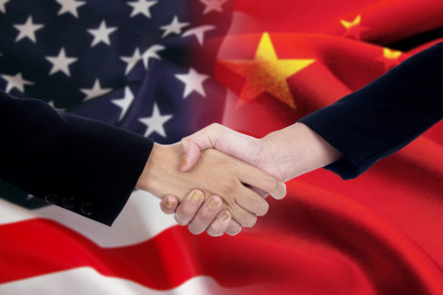 Handshake China United States