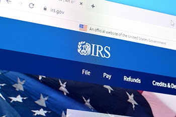 Internal Revenue Service IRS website